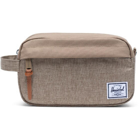 Herschel Chapter Carry On Travel Kit kelp crosshatch/kelp